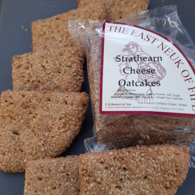 Strathearn Cheese Oatcakes