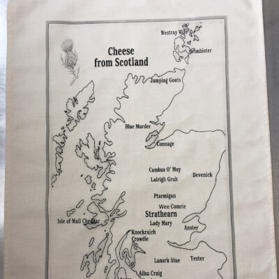 Scottish Cheese Map