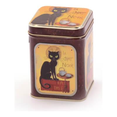 Tea Tin 'Black Cat'