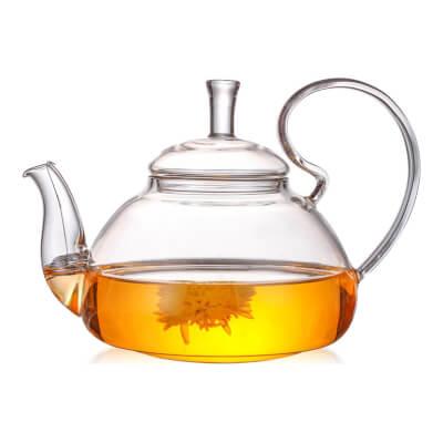 Glass Teapot 0.6/ 0.8/ 1L