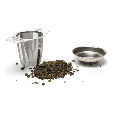 Durable Tea Strainer With Two Ornamental Handles