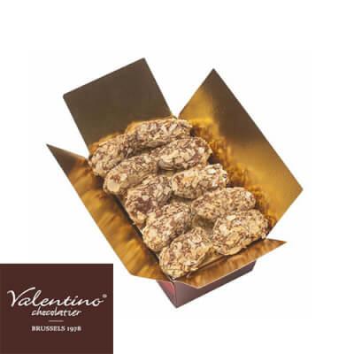 Handmade Belgian Chocolate Almond Truffles Gift Box