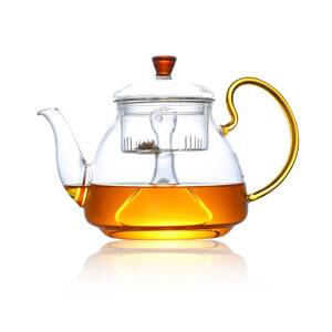 Large Boiling Glass Teapot 1.2L
