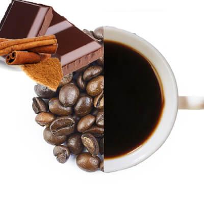 Chocolate Cinnamon Flavoured Coffee Beans ( Medium Ground )