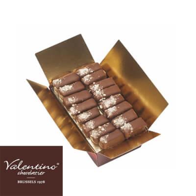 Handmade Belgian Dark Chocolate Nougatine Gift Box