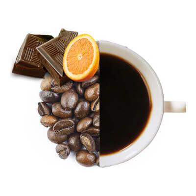 Chocolate Orange Flavoured Coffee Beans ( Medium Ground )