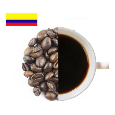 Colombia Medelin Excelso Coffee Beans ( Coarse Ground )