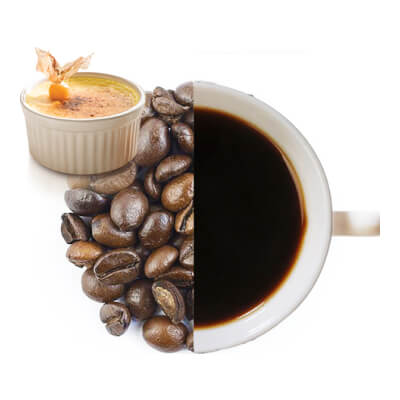 Creme Brule Flavoured Whole Coffee Beans