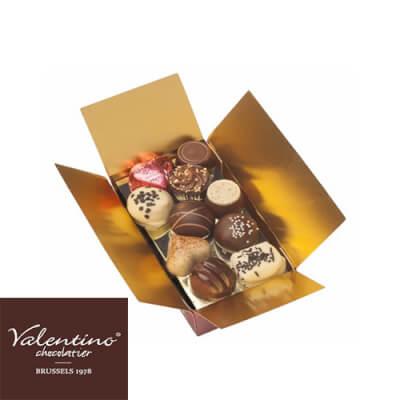 Handmade Belgian Mixed Chocolate Praline Selection