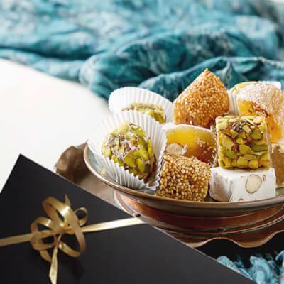 Handmade Mixed Turkish Delight Selection
