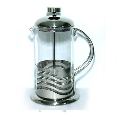 French Press Glass Tea/Coffee Maker 0.6L