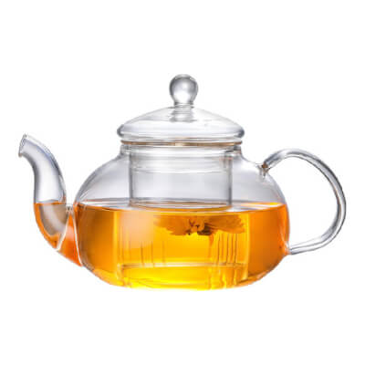 Glass Teapot With Glass Infuser 0.6/ 0.8/ 1L