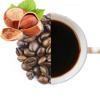 Hazelnut Flavoured Coffee Beans (Medium Ground)