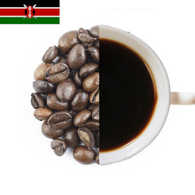 Kenya A A  Speciality Coffee Beans ( Coarse Ground )