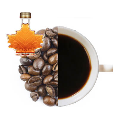Maple Syrup Flavoured Whole Coffee Beans