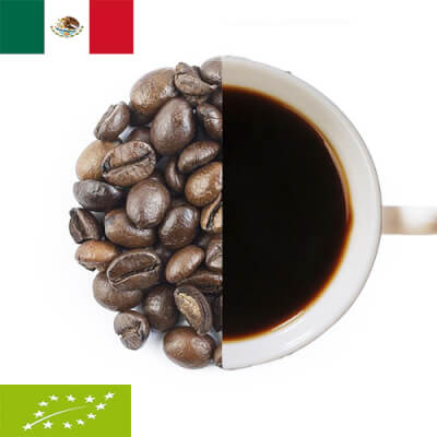 Organic Mexico Berilo Coffee Beans ( Coarse Ground )