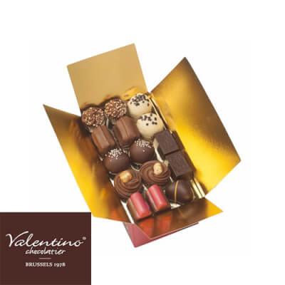 Handmade Belgian Dark Chocolate Praline Selection