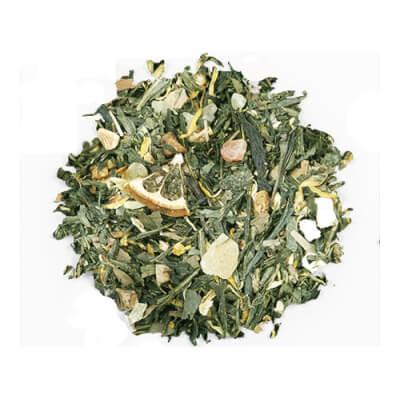 Orange Gingko And Ginger Green Tea