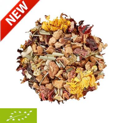 Organic Lavender & Mandarin Fruit-Herbal Tea