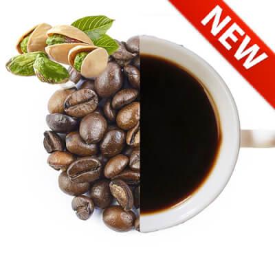 Pistachio Flavoured Whole Coffee Beans