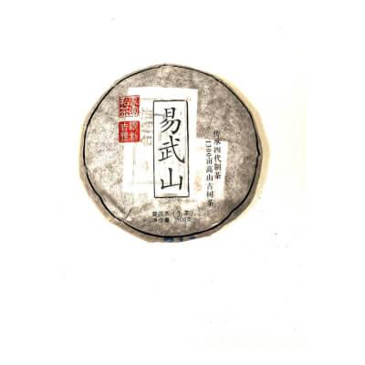 Organic Yi-Wu Mountain Pu-Erh Raw Tea Cake 100G