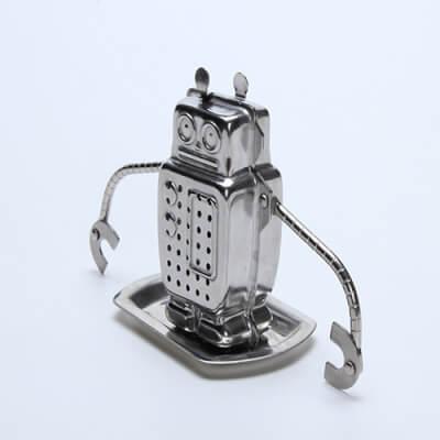 Stainless Steel Tea Strainer 'Little Robot'