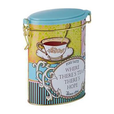 Tea Tin 'Tea Time'
