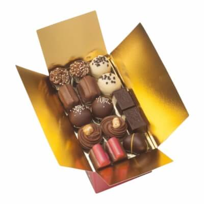 Handmade Belgian Milk Chocolate Praline Selection