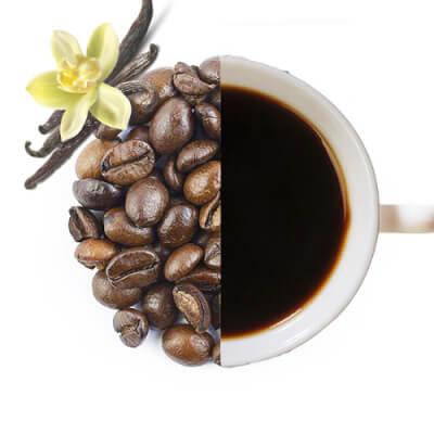 Vanilla Cream Flavoured Coffee Beans ( Medium Ground )