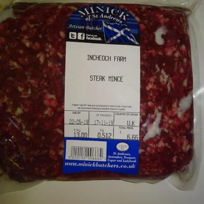 Luing Beef Steak Mince