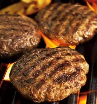 Incheoch Salt And Pepper Hogget Burgers,