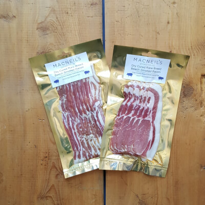 Dry Cured British Beech Smoked Bacon— Per Pack
