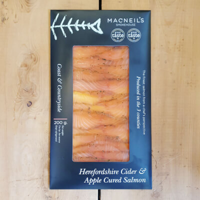 200G Herefordshire Cider Apple Cured Salmon