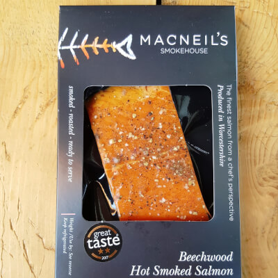 Hot Kiln Roasted Smoked Salmon 100G 120G
