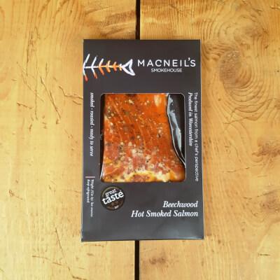 Hot Kiln Roasted Smoked Salmon 180G 200G