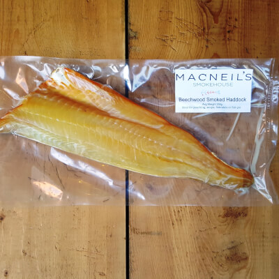 Cold Smoked Haddock Fillet