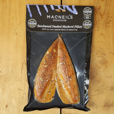 Beechwood Smoked Mackerel Fillets