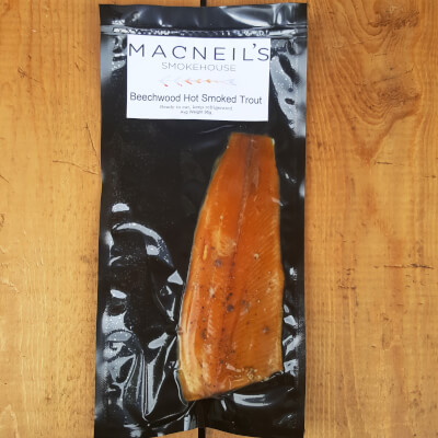 Hot Smoked Trout Per Fillet