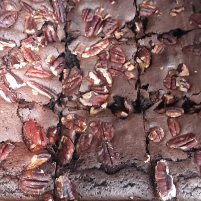 Chocolate And Pecan Nut Brownies