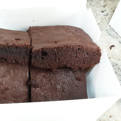 Chocolate Fudge  Brownies No Nuts