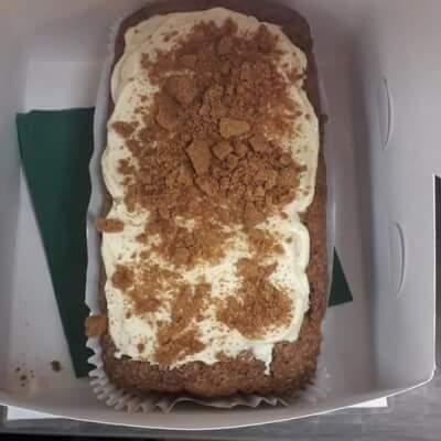 Lotus Biscoff Carrot Cake