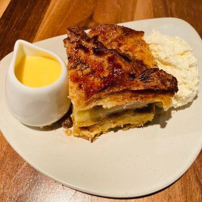 Market Lane Orange And Vanilla Bread & Butter Pudding