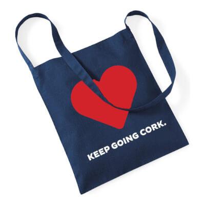 Keep Going Cork Tote Bag