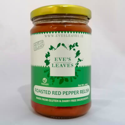 Eve's Roasted Red Pepper Relish