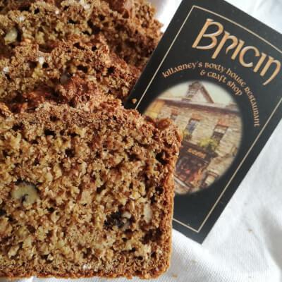 Bricíns Brown Bread With Walnuts