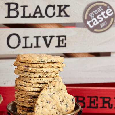 Black Olive Cracker