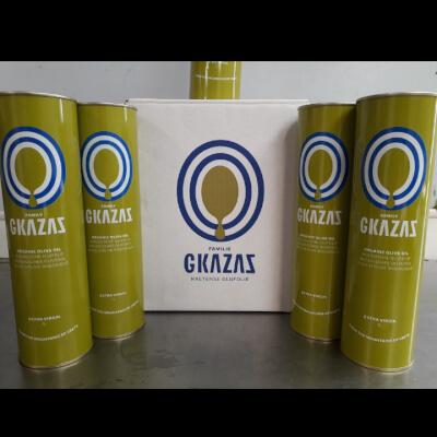 Gkazas Organic Olive Oil