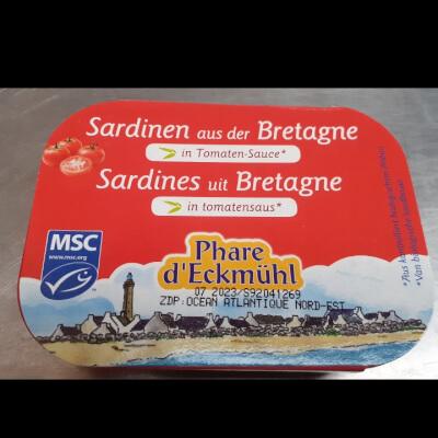 Sardines In Organic Tomato Sauce