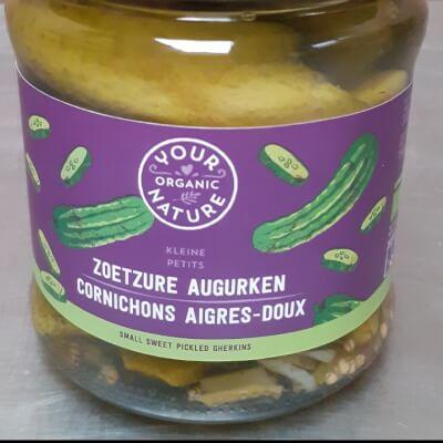 Organic Pickled Cornichons