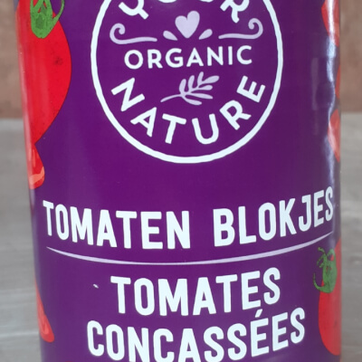 Organic Chopped Tomatoes 400G